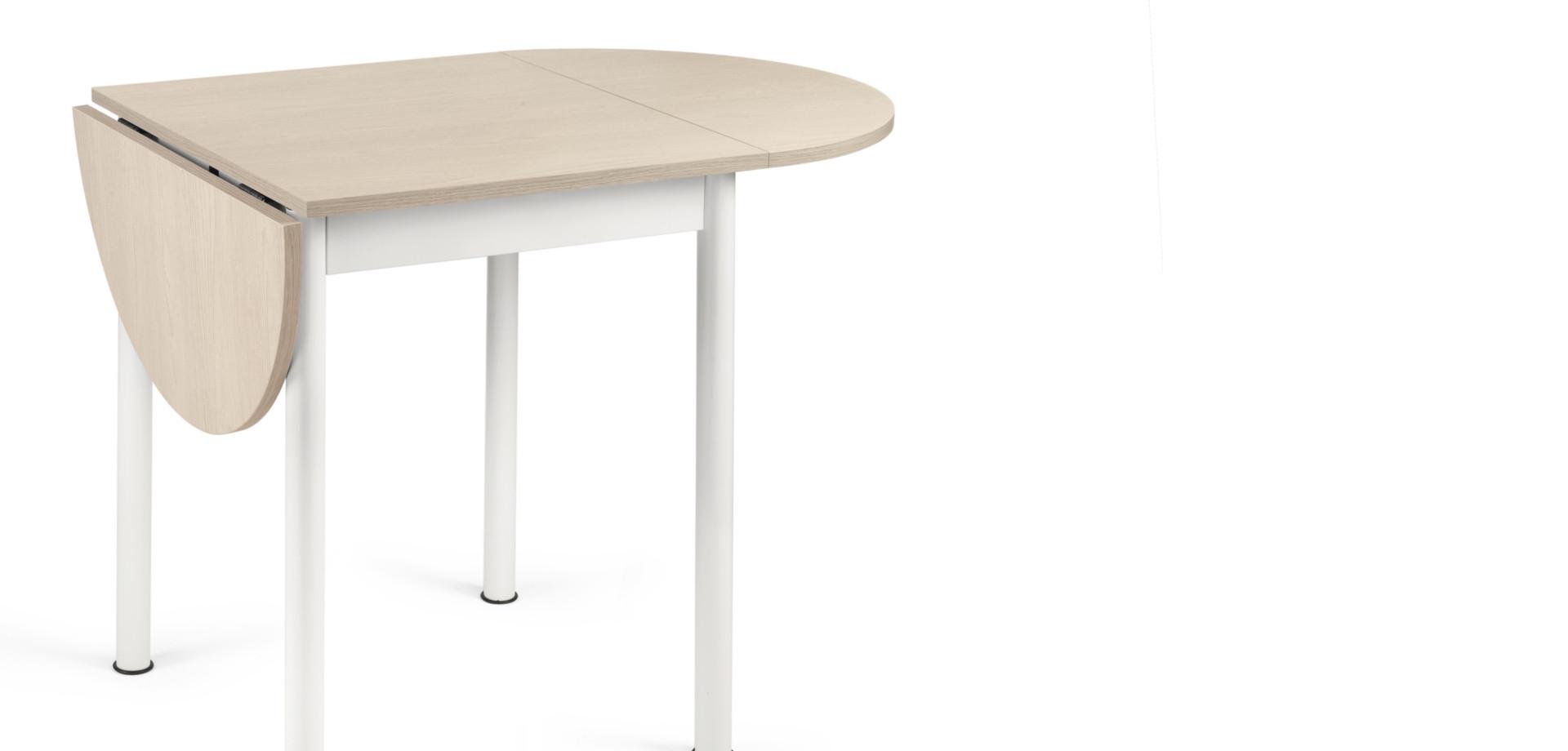 tavolo FILIPPO piano olmo-sabbia