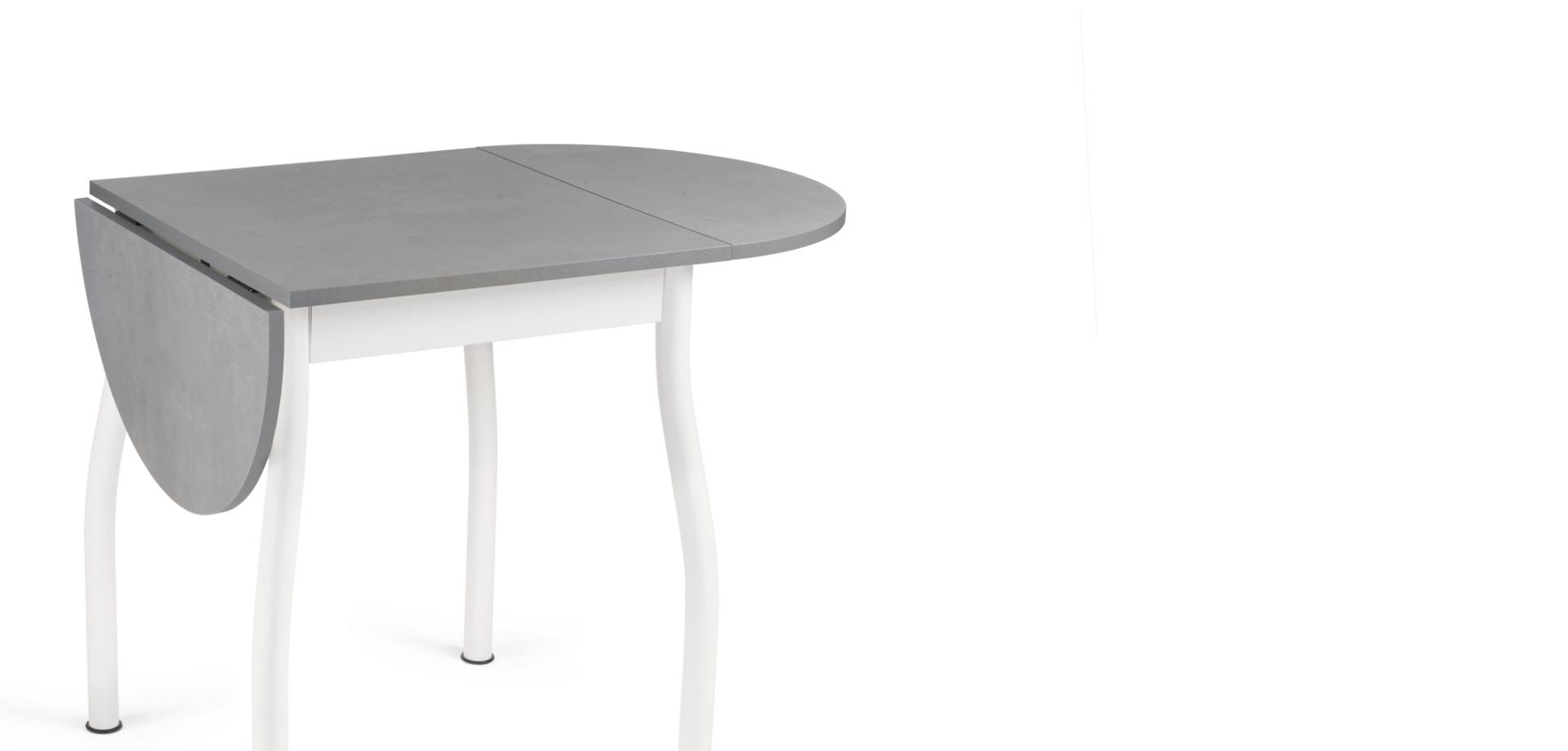 tavolo FILIPPO-S piano colore cemento